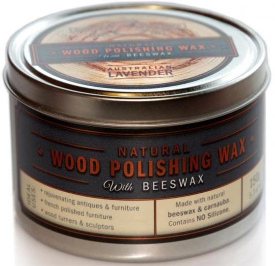 Wood Polishing Wax with Beeswax – Australian Lavender