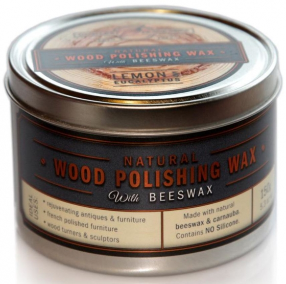 Wood Polishing Wax with Beeswax – Lemon & Eucalyptus